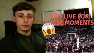 British Soccer fan reacts to Basketball - NBA HYPED BUZZER BEATER LOUDEST CROWD REACTIONS