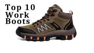 Top 10 Men's Work Boots safety shoes + Giveaway