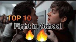 Top 10 school fights scnes#@