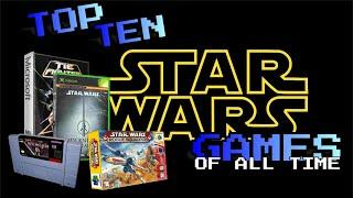 Top 10 Tuesday - The Best Star Wars Games of All Time
