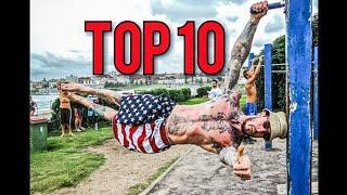 Top 10 najtrudniejszych figur w street workout