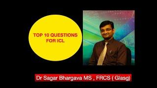 ICL top 10 questions answered by ICL SURGEON  DR SAGAR BHARGAVA KOLKATA | LASIK SURGERY