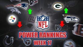 NFL Week 17 Power Rankings   LOTS Of Movement At The Top!!