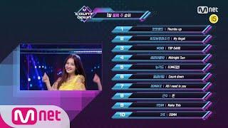 What are the TOP10 Songs in 2nd week of January? M COUNTDOWN 200109 EP.648