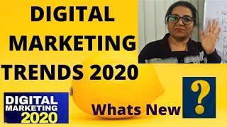 Digital Marketing Trends 2020   How Digital Marketing Will Change in 2020 in Hindi ?