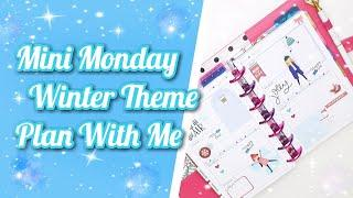 Mini Monday!!! | Mini Happy Planner Winter Theme | Plan With Me Dec. 2-8 2019