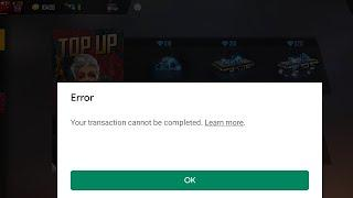 Error free fire top up   free fire top up problem solved   free fire Dollar problem solved