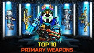 Pixel Gun 3D - TOP 10 Primary Weapons / Best Weapons for Coupons (Part 1)