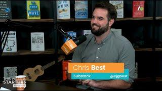 E1016 Substack CEO Chris Best empowers writers via email newsletter platform, raised $15M from a16z