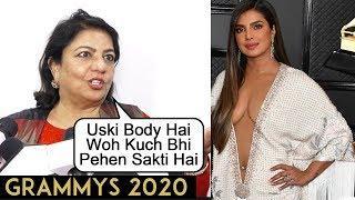 Priyanka's Mother Madhu Chopra REACTS On Priyanka TROLLED For Grammys 2020 Dress, Slams HATERS