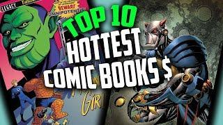 Top 10 Hottest Selling Collectible Comic Books This Week - Top 10 Hot Comics for Speculation