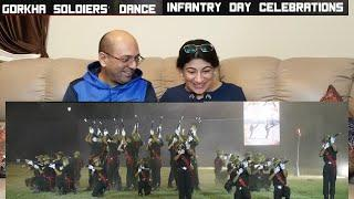 Amazing Dance Performance By Indian Army 14 GORKHA Regimental Soldiers On Infantry Day REACTION !!