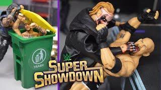 WWE ACTION FIGURE SETUP! SUPER SHOWDOWN 2020!