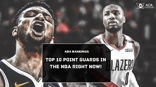 Top-10 Point Guards In The NBA Right Now! (Season 2019-2020 Summary)