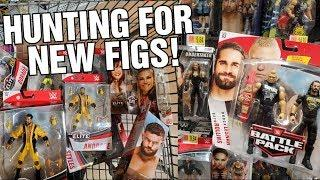 WWE TOY HUNTING FOR SOME NEW FIGS & EXCLUSIVES