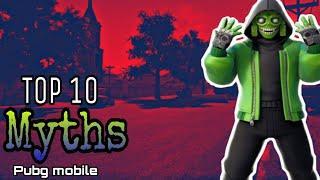 Top 10 Mythbusters in Pubg Mobile || Alexander Pubg || Pubg Myths #1 ||