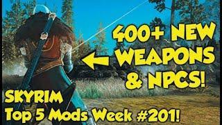 Skyrim Top 5 Mods of the Week #201 (Xbox Mods)