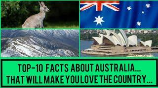 TOP 10 FACTS ABOUT AUSTRALIA THAT WILL MAKE YOU LOVE THE COUNTRY KANGAROOS,FUNNEL WEB SPIDER & SO ON
