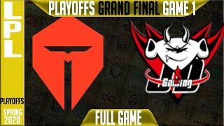 Top Esports vs JD Gaming Game 1 Full - LPL Spring 2020 Playoffs GRAND FINAL - TES vs JDG G1