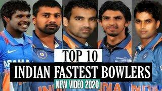 Top 10 Indian Fastest Bowlers in Indian Cricket History 2020