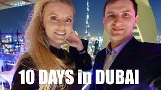 10 Days in Dubai Vlog | Top Things to do in DUBAI