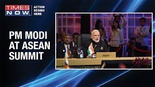 Prime Minister Narendra Modi attends the India-ASEAN Summit in Bangkok