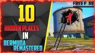 TOP 10 HIDDEN PLACES BERMUDA 2.0 || NEW HIDDEN PLACE AFTER UPDATE BY GAMER GANG