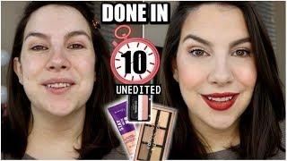 10 MINUTE COVERAGE LOVERS Makeup... Drugstore & UNEDITED
