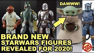 FALL 2020 NEW STARWARS FIGURES: The Mandalorian, Black Series, Vintage and MORE!