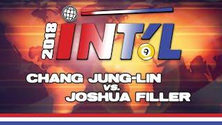 2018 INTERNATIONAL 9-BALL OPEN: Chang Jung-Lin vs. Joshua Filler