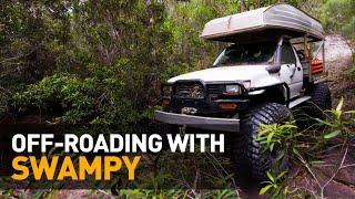 NO TRACK, NO PROBLEM — Swampy the Hilux takes on a brutal 4X4 mission (Australia)