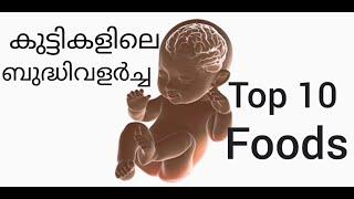Top 10 foods for brain development of your child/ brain health