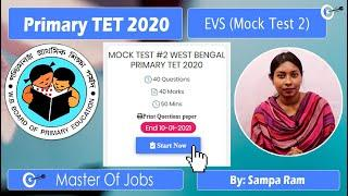 Mock Test 2   EVS   MCQ (Top 10 Questions) - WB Primary TET 2020   Master Of Jobs