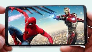 TOP 5 SUPER HEROES GAMES FOR ANDROID 2020   HIGH GRAPHICS