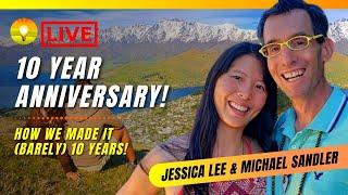 Our 10 Year Anniversary! How we (barely) made it! Michael Sandler and Jessica Lee (AKA The Pookie)