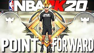 FIRST LEGEND POINT FORWARD BUILD IS A DEMON ON NBA 2K20! THIS IS  THE BEST POINT FORWARD BUILD ON 2K