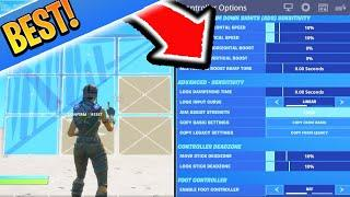 NEW Controller SETTINGS ARE OP! BEST Fortnite Sensitivity/Settings for PS4/XBOX (BEST Settings)