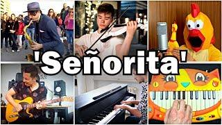 Who Played it Better: Señorita (Street Sax, Violin, Piano, Chicken, Cat Piano, Guitar)