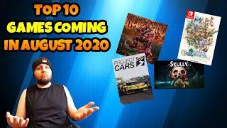 The Top 10 Best Games Coming In August 2020
