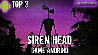 Top 3 MEJORES Juegos De SIREN HEAD Para ANDROID 2020