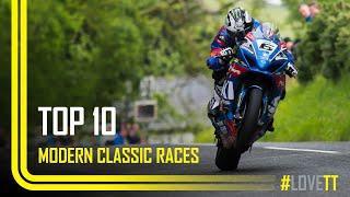 Top 10 Modern Classic TT Races | TT Races Official