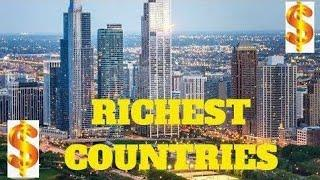 top 10 richest country in the world 2020 || world most rich country 2020