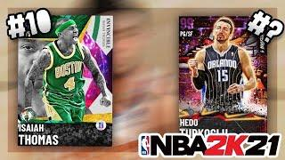 RANKING THE BEST POINT GUARDS IN NBA 2K21 MYTEAM (POINT GUARD TIER LIST)