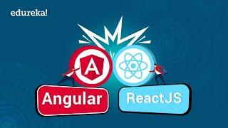 Angular vs React in 2020 | Differences between React and Angular | Angular 8 Training | Edureka