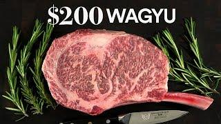 How to grill a $200 GIANT WAGYU steak | Guga Foods