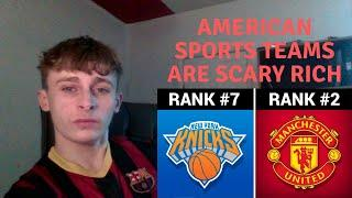 British Guy reacts to American Sports - Top 10 Most Valuable Sport Teams