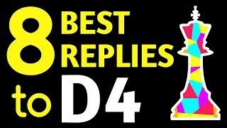 Best Chess Openings Against D4 | Black Strategy, Moves, Ideas, Tips, Tricks & Tactics to Win Games