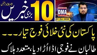 Top 10 with GNM || Today's Top Latest Updates by Ghulam Nabi Madni || Evening || 1 October 2020 ||