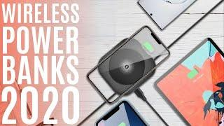 Top 10: Best Wireless Charger Power Banks 2020 / Portable Fast Charging Wireless Power Bank