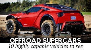 Top 12 Supercars Equally Fast on Tracks and Off-road (Capabilities and Speeds Compared)